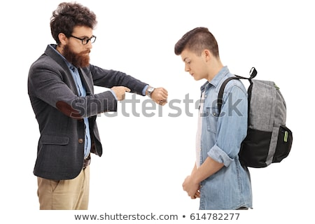 Stock photo: Bad behavior punishment