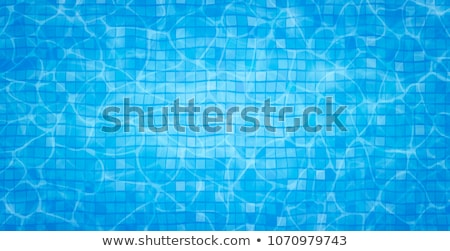 Water surface in swimming pool Stock photo © asturianu