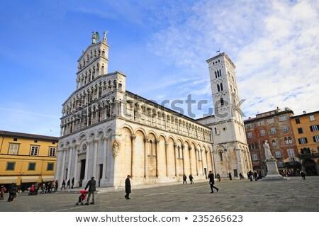 Middeleeuwse kathedraal huis zomer reizen Stockfoto © dezign80
