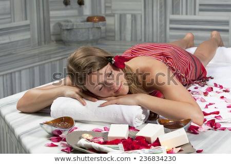 girls in turkish bath Stock photo © adrenalina