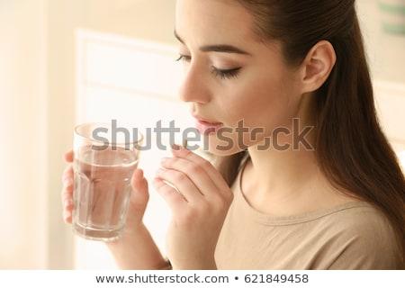 錠剤 · 水 · 効果 · 医療 · 実例 - ストックフォト © rastudio