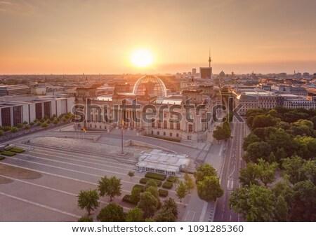 Восход Берлин небе Европа утра Сток-фото © meinzahn