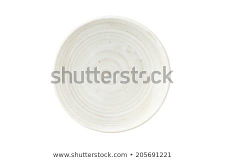 rustic clay plate Stock photo © Digifoodstock