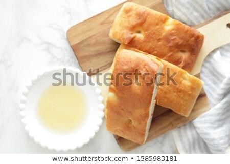 Foto d'archivio: Pane · alimentare · olio · Blur · aglio · fotografia