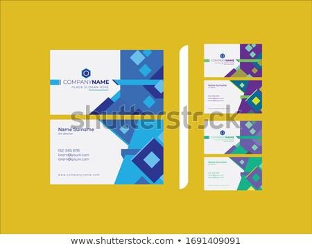Limpar mínimo marca brochuras três diferente Foto stock © SArts