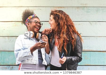 代 · 笑い · 楽しい · 小さな · 青少年 · 若者 - ストックフォト © dtiberio