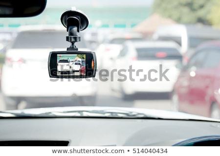 Voiture vidéo isolé blanche Photo stock © vtls