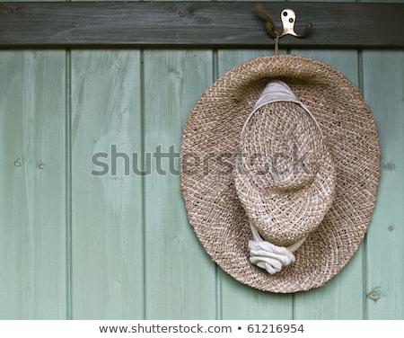 Hat hanging on hook Stock photo © wavebreak_media