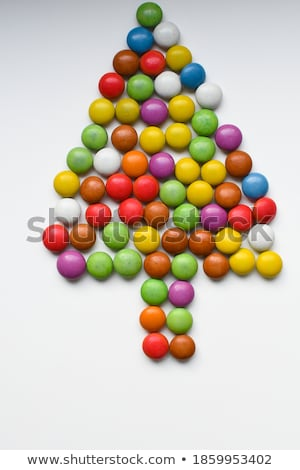 Set lying sticks of brown and white sugar stock photo © Coffeechocolates