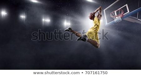 basketball player taking shot Stock photo © IS2