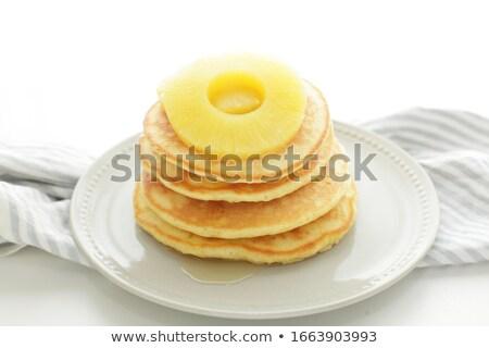 Fragole piatto colazione dolce Foto d'archivio © Digifoodstock