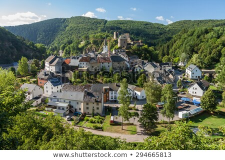 esch sur sure in luxembourg stock photo © zhekos