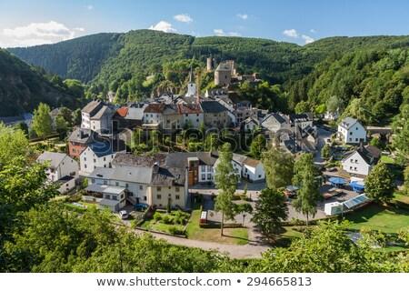 Esch sur Sure in Luxembourg Stock photo © zhekos