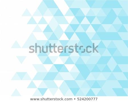 三角形 パターン 幾何学的な タイル モザイク 色 ストックフォト © hamik