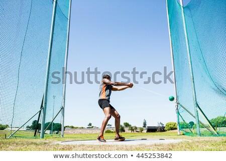 Atleta martello uomo fitness sport Foto d'archivio © wavebreak_media