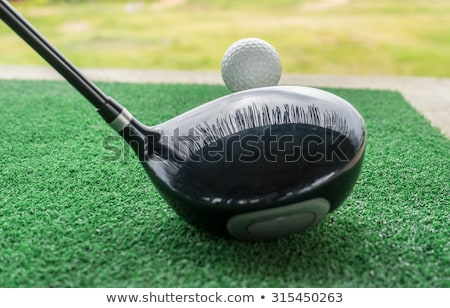 Empty driving range Stock photo © IS2