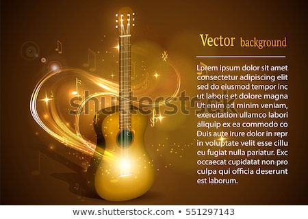 Snelheid gitaar logo hand abstract achtergrond Stockfoto © djdarkflower