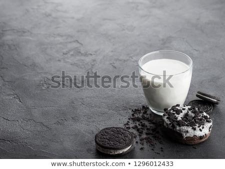 изюм · Cookie · стекла - Сток-фото © denismart