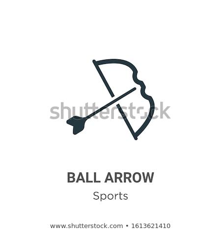 Globe with three arrows around icon for web and mobile, modern minimalistic flat design. vector illu Stock photo © kyryloff