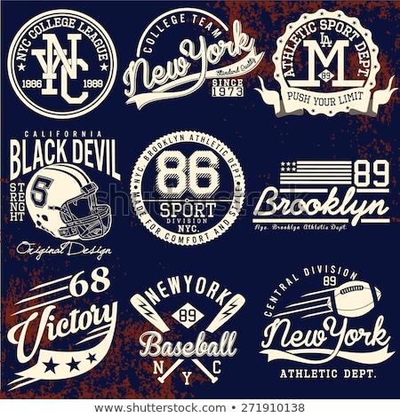 T-shirt stamp graphic. New York Sport wear typography emblem vector ... 6aebb47b0