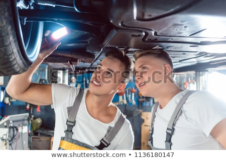 kettő · dedikált · autó · mechanika · tuning · autó - stock fotó © kzenon