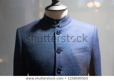 Homem camisas estúdio alfaiate moda mulher Foto stock © Kzenon