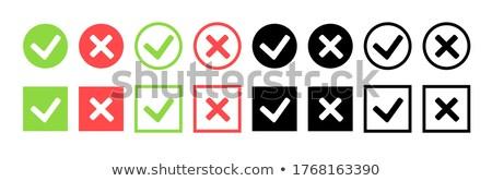 Set of multiplication circle Stock photo © colematt