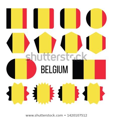 ベルギー フラグ コレクション 図 ベクトル ストックフォト © pikepicture
