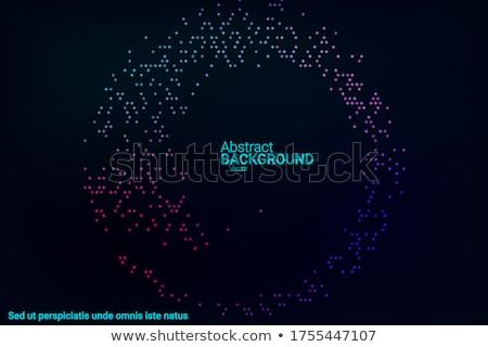 ダイナミック 暗い 流体 運動 スタイル デザイン ストックフォト © SArts