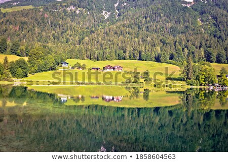 湖 高山 風景 ミラー 表示 地域 ストックフォト © xbrchx