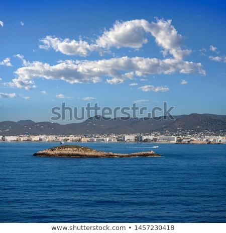 Ibiza Ses Figueretes and En Bossa beach Stock photo © lunamarina