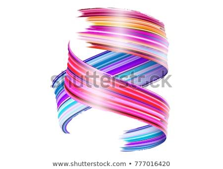 Abstrato colorido líquido laço projeto teia Foto stock © SArts