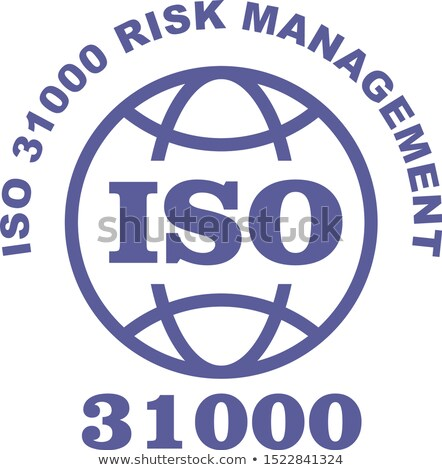 ISO 31000 stamp sign - guidance on risk management standard, web Stock photo © Winner