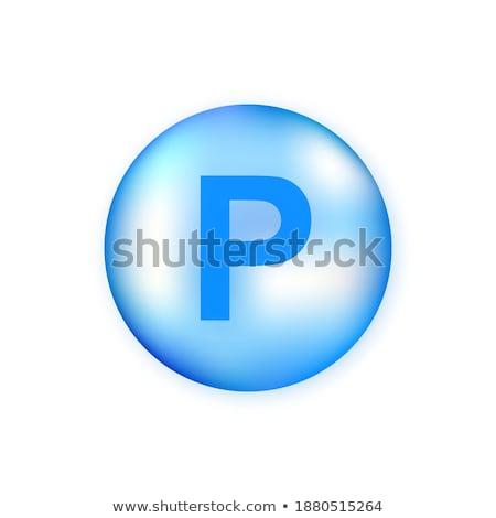 azul · pastillas · dieta · saludable · nutrición · píldora - foto stock © anneleven