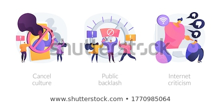 Boycott abstract concept vector illustration. Stock photo © RAStudio