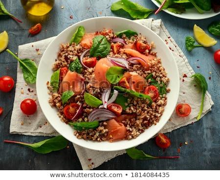 salada · vegetal · delicioso · alimentação · saudável · comida - foto stock © chrisroll