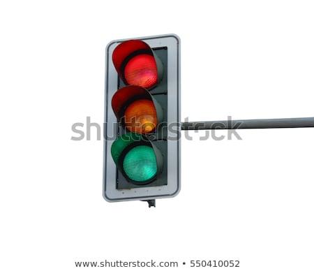 Isolated traffic light Stock photo © Ansonstock
