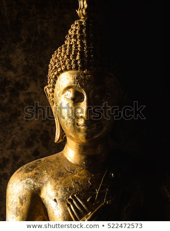 Taş heykel Tayland tapınak sanat erkekler Stok fotoğraf © beemanja