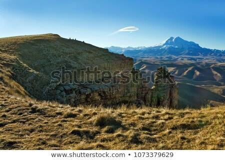 caucasus mountains elbrus region stock photo © bsani