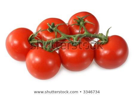 Red vine ripened British tomatoes. Stock photo © latent