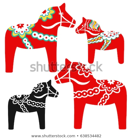 Dalecarlian horse Stock photo © Stocksnapper