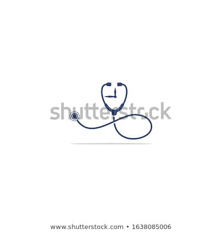 estetoscopio · reloj · tiempo · problemas - foto stock © devon