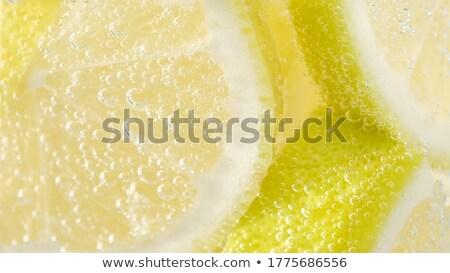 レモン 孤立した 食品 フルーツ 背景 ストックフォト © sweetcrisis