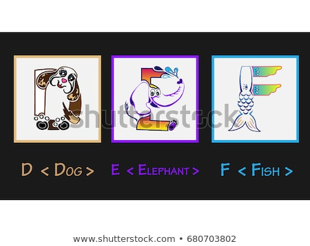 Colored Kids Letters Spelling Back To School As Symbol For Educa Stock photo © stuartmiles