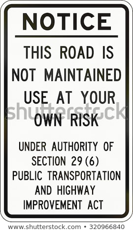 Use at your own risk Stock photo © devon