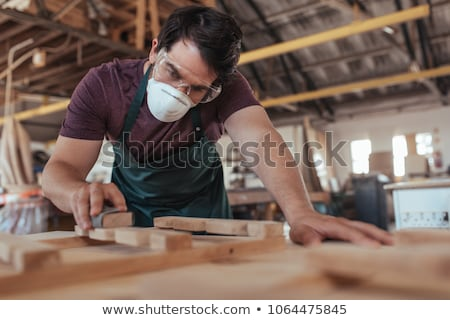 craftsman protecting his face Stock photo © photography33
