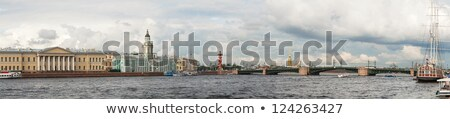 Panoramic overview of Saint Petersburg, Russia Stock photo © AndreyKr