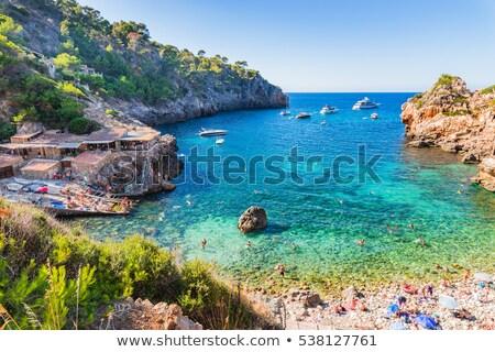 Beautiful beach scenery Stock photo © Ronen