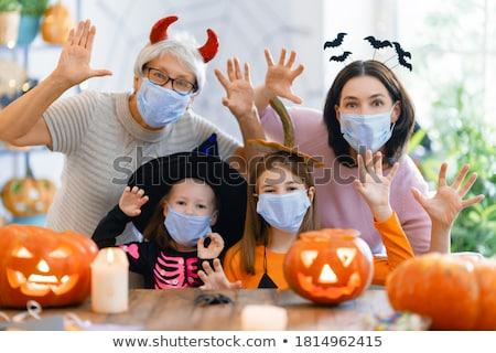 Trucco halloween party occhi sfondo Foto d'archivio © adrenalina