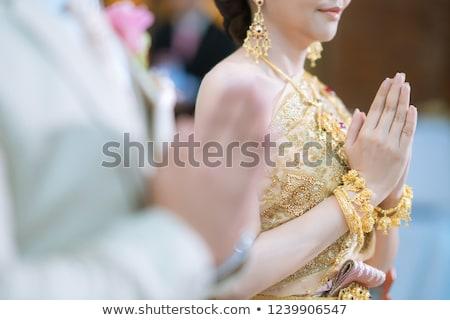 Thai Wedding ceremony Stock photo © smuay
